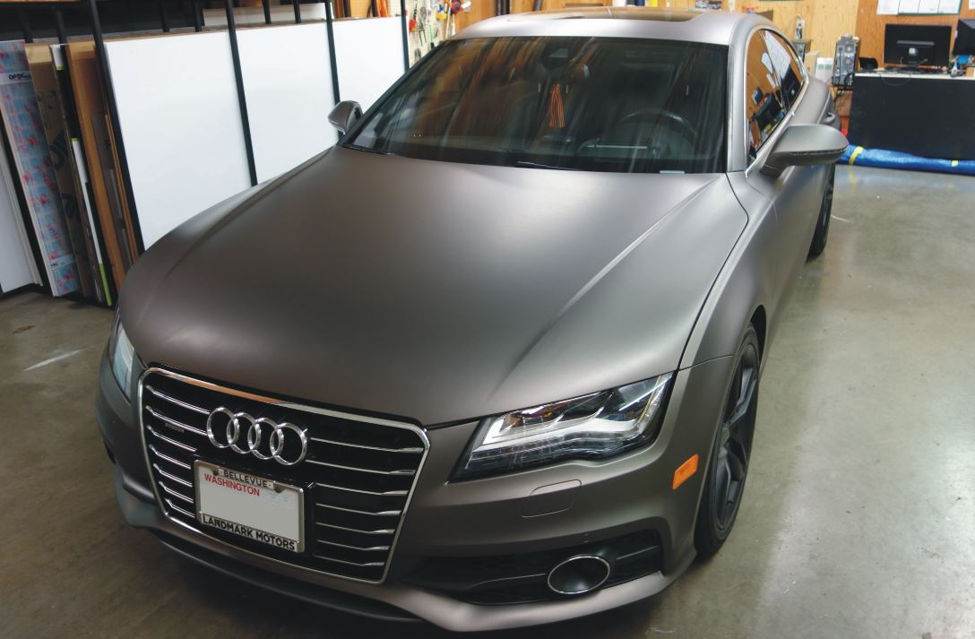 Pros and cons of matte wrapping a car
